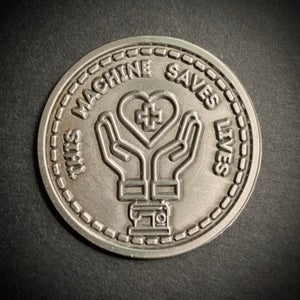 Meritorious Machine Medals - This Machine Saves Lives