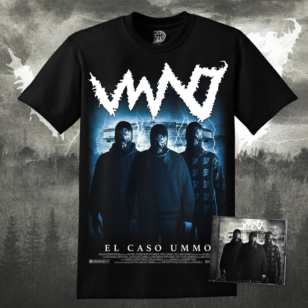 Image of 'EL CASO UMMO' Tshirt + CD