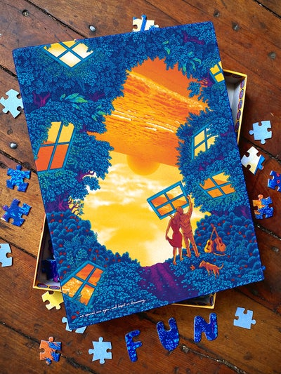 Image of We Opened Our Eyes, and Kept on Dreaming - Puzzle