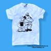 Popeye The Sailor Man - Popeye and Bluto Grunge T Shirt