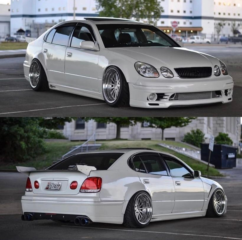 Image of 25mm front aristo/gs300 over fender