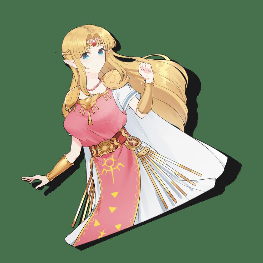 Image of Princess Zelda Spot Reflective