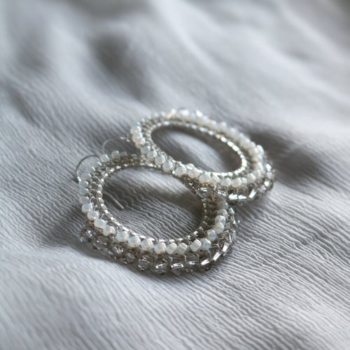 Image of CORDOBA Earrings - Vintage Ivory