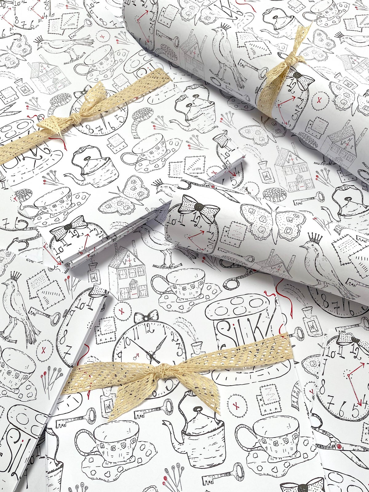 Image of Bundle of 'Everyday design' wrapping paper
