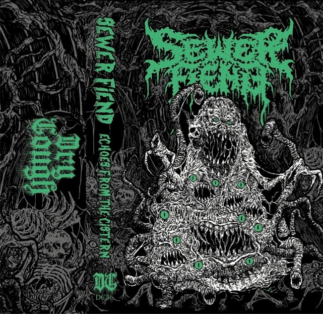 Image of Sewer Fiend - Echoes From The Cistern Cassette (DC46)