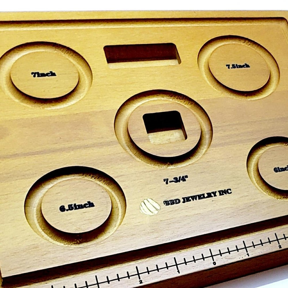 Image of Wooden bead board