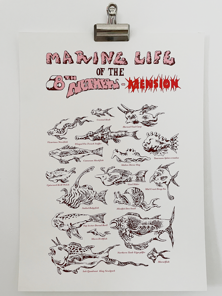 Image of Marine Life of the 8th Nether-Mesion by Jackson E.