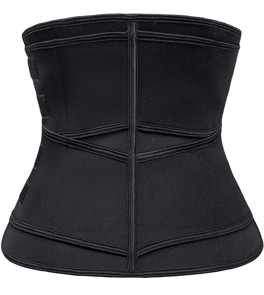 Image of Fitness belt w Zipper waist trainer (2 Straps)