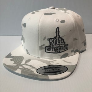 Image of SnapBack- White Camo or Solid Charcoal