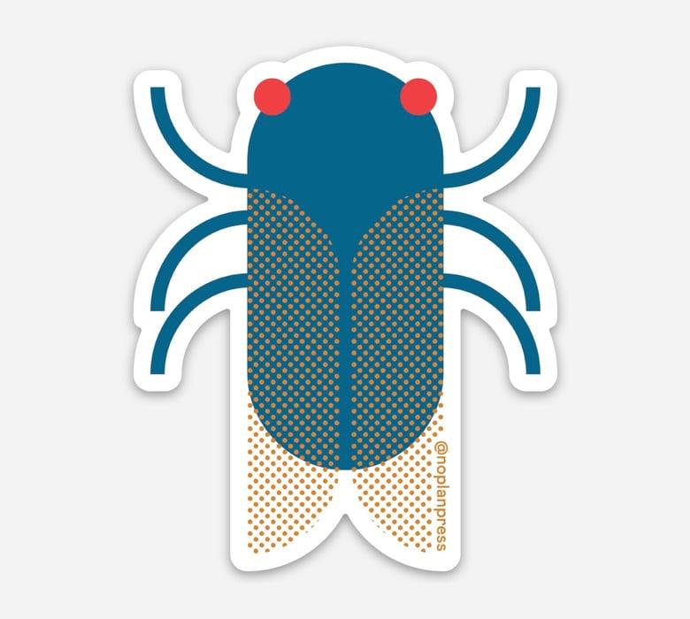 Image of Cicada Sticker