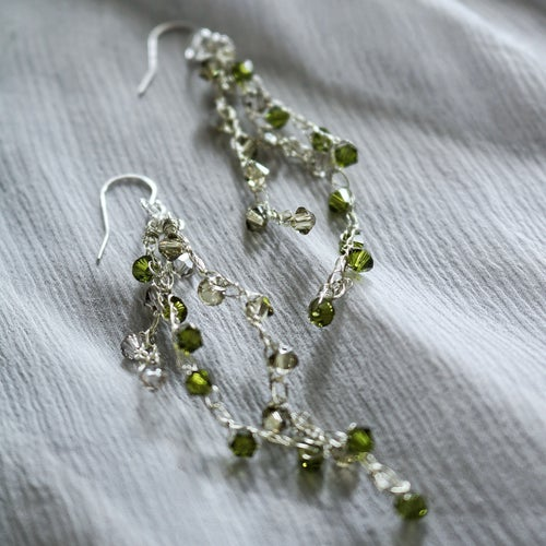 Image of WISTERIA Earrings - Bayleaves