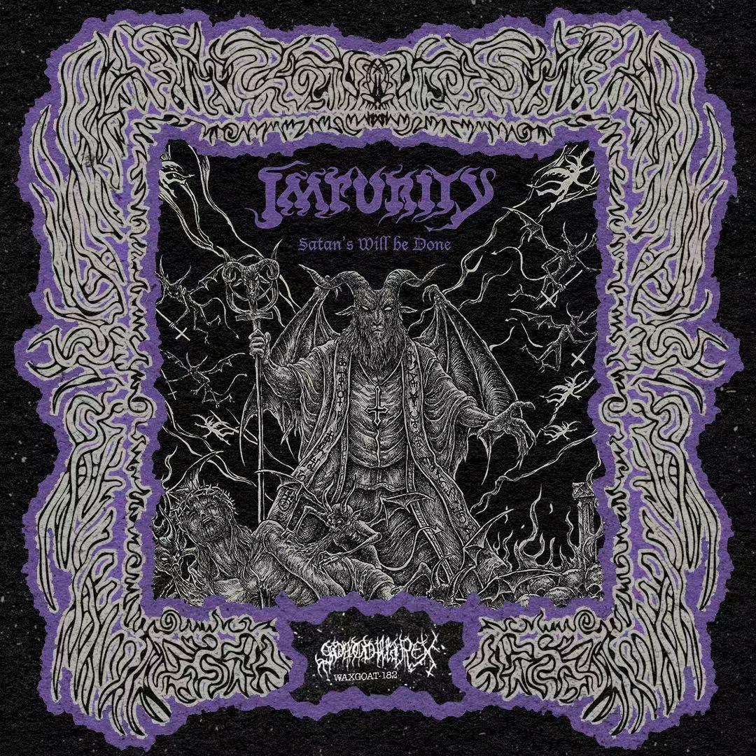 WAXGOAT182 Impurity (Bra) - Satan's Will be Done - LP