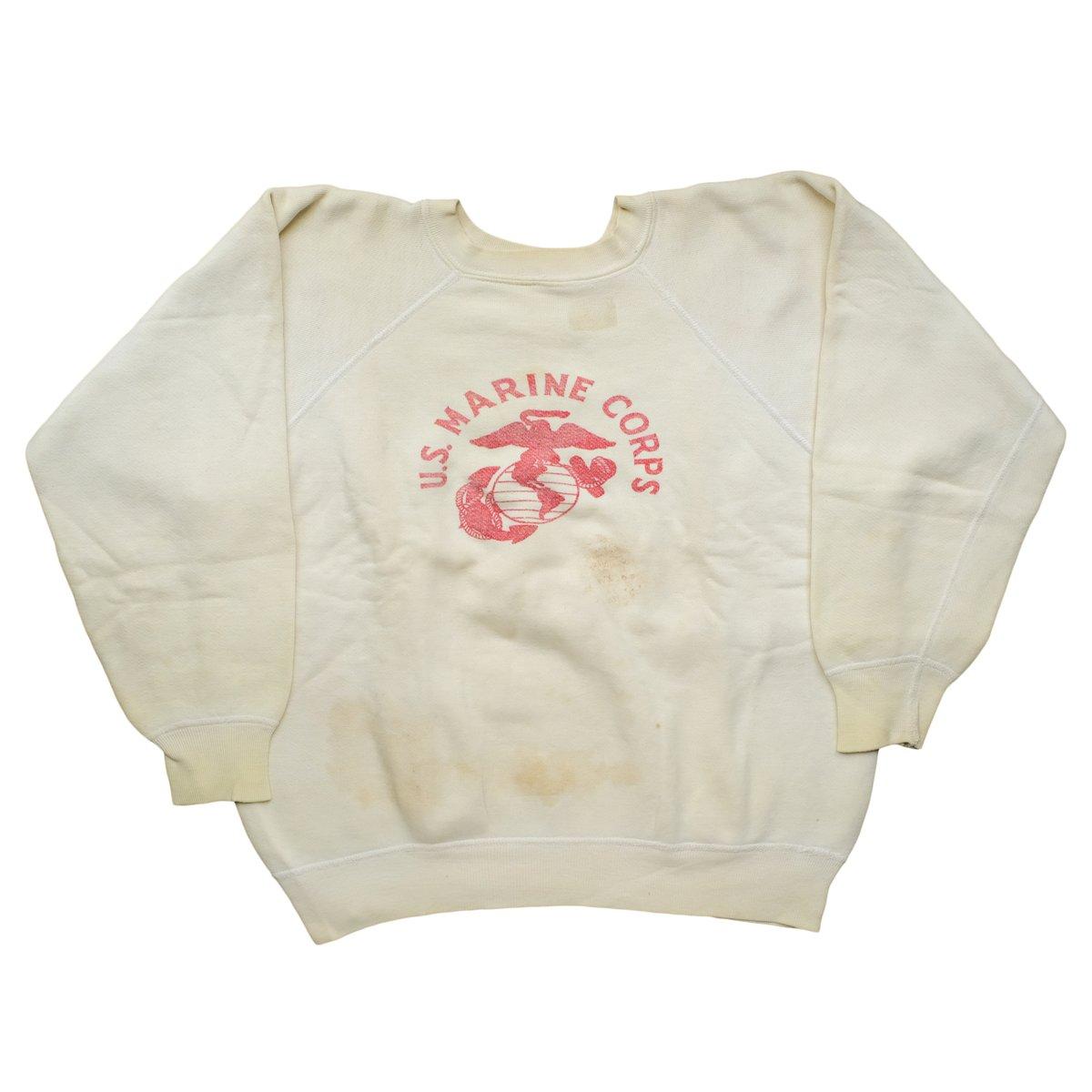 Image of Vintage 1960's Super Faded USMC Sweatshirt