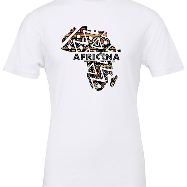 Image of White Africana map