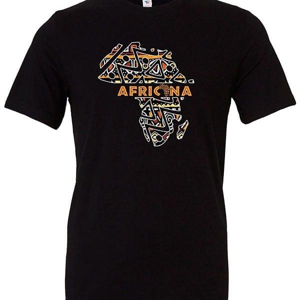 Image of Black Africana tshirt