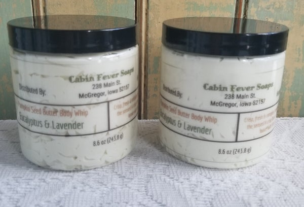 Image of Pumpkin Seed Butter body Whip 8.6 oz., 4.6 oz., 1 oz.