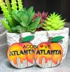 Atlanta Peach Earrings