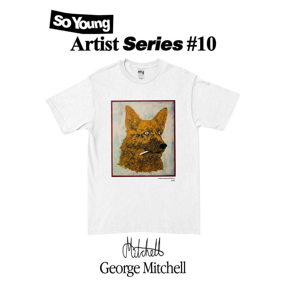 Image of George Mitchell Artist Series T-Shirt PRE ORDER