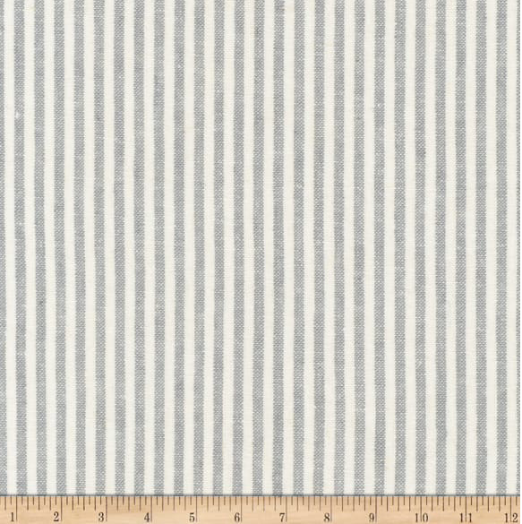 Image of Linen Stripes Steel Shade