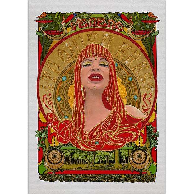 Image of Veneno - Art nouveau - Print