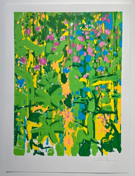 Image of Late Spring #6 (The forest floor is a carpet of colour)