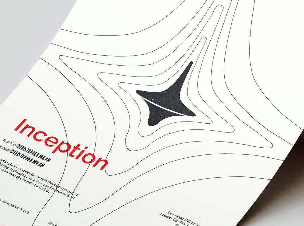 Inception - Christopher Nolan Movie Poster
