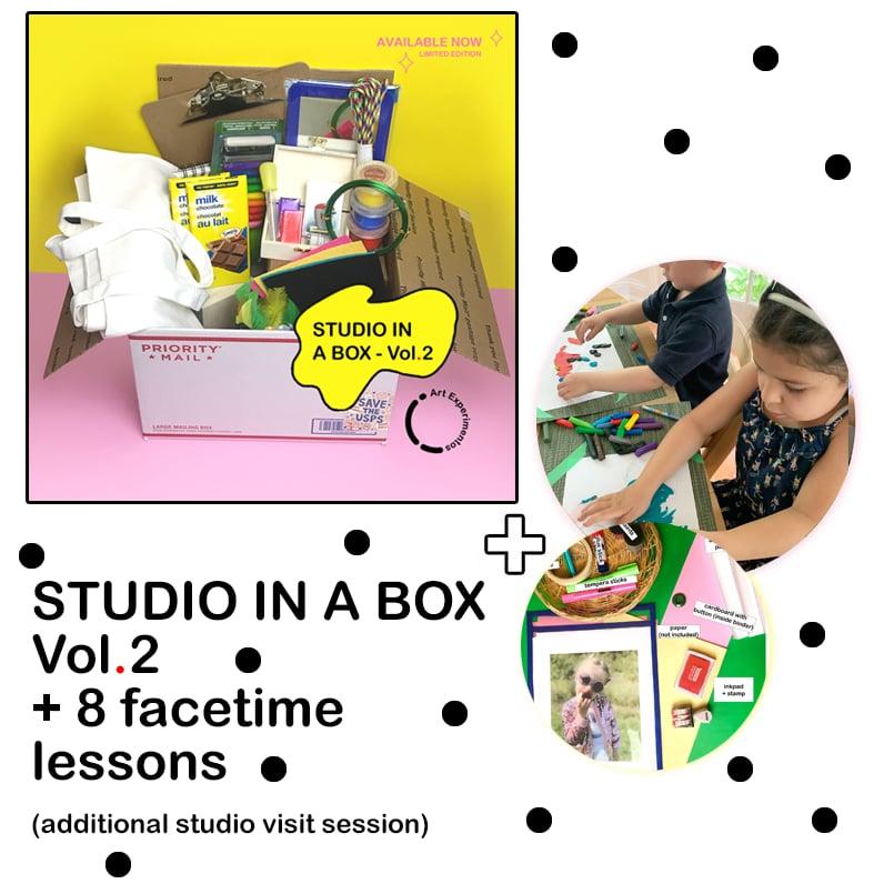 Image of STUDIO IN A BOX Vol.2 + FACETIME CLASSES