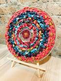 Red Centre Circular Weaving