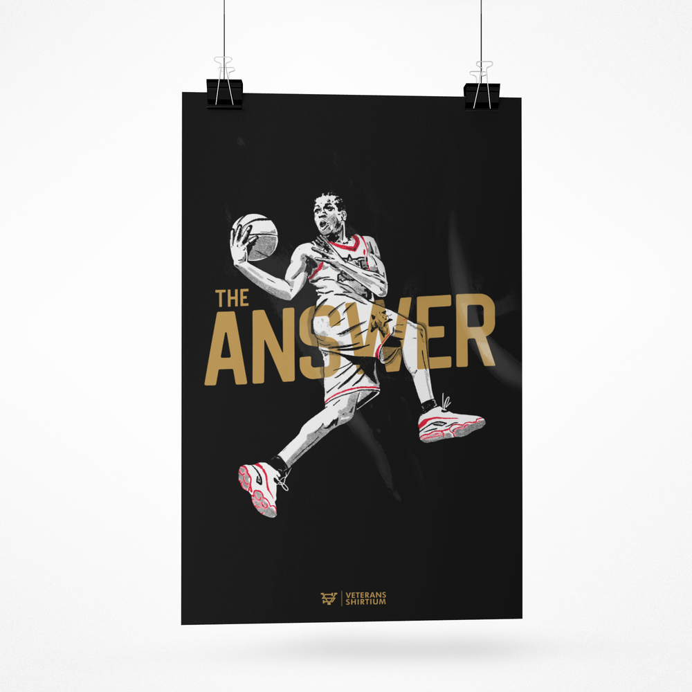 Image of The Answer Art Print