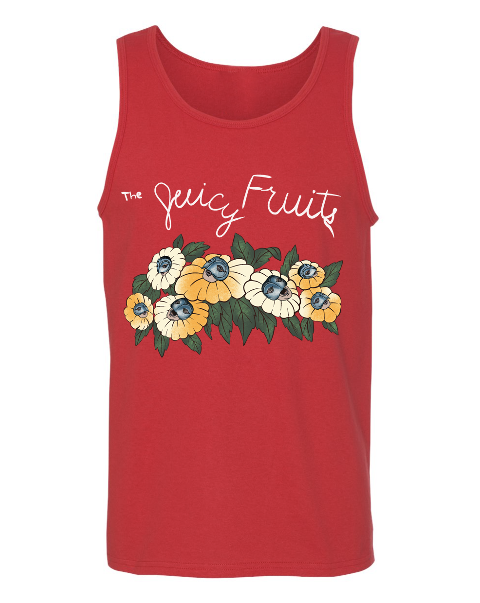 Image of The Juicy Fruits Beach Bums Unisex Tank PREORDER