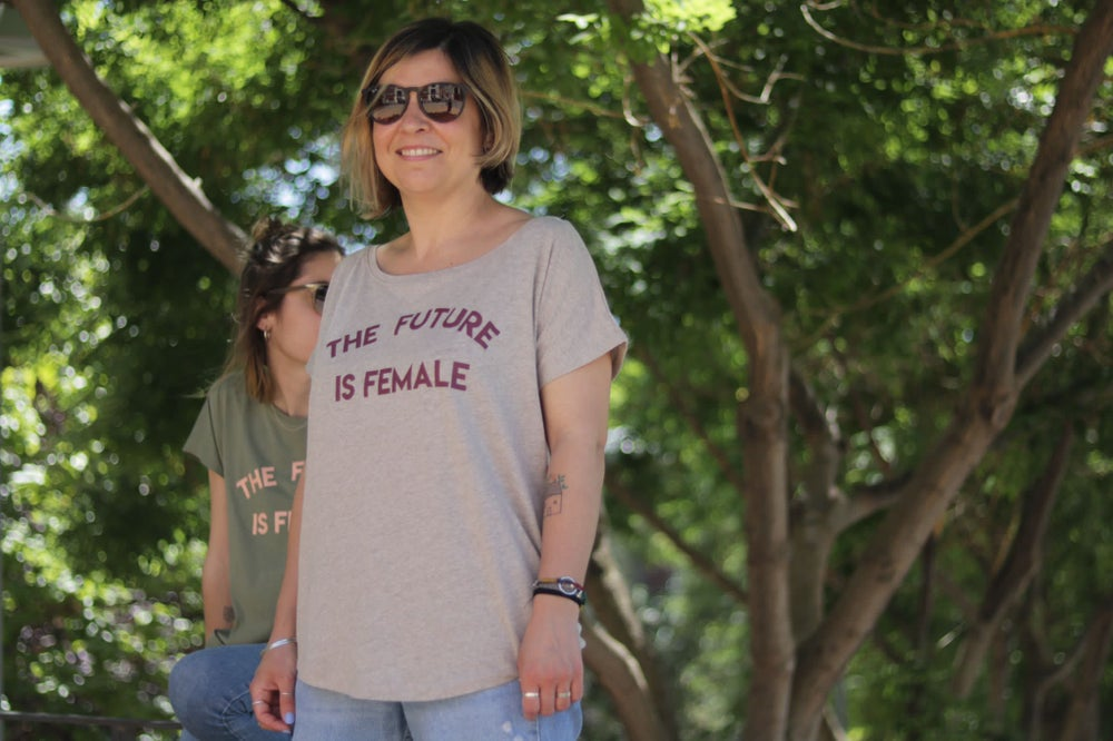 Image of Samarreta màniga curta FUTURE IS FEMALE natural