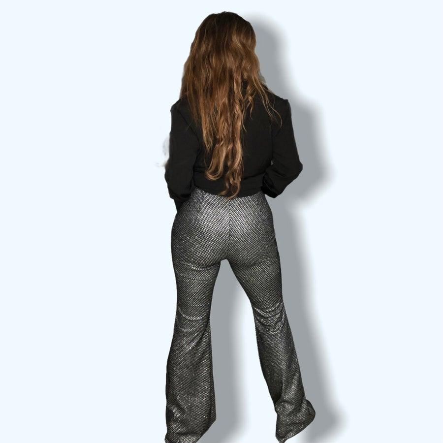 Image of Silver Glitter Flares