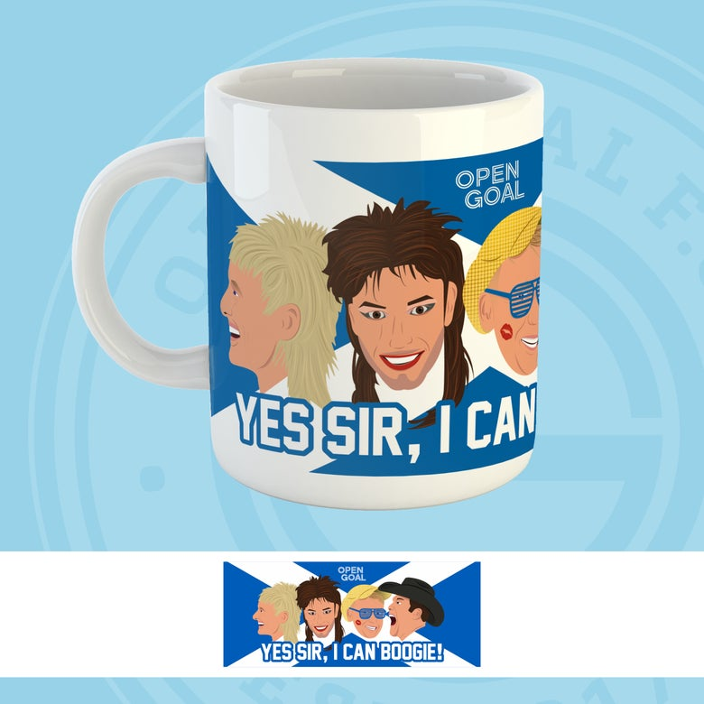 Image of Yes Sir, I Can Boogie - Open Goal Euro 2020 Mug