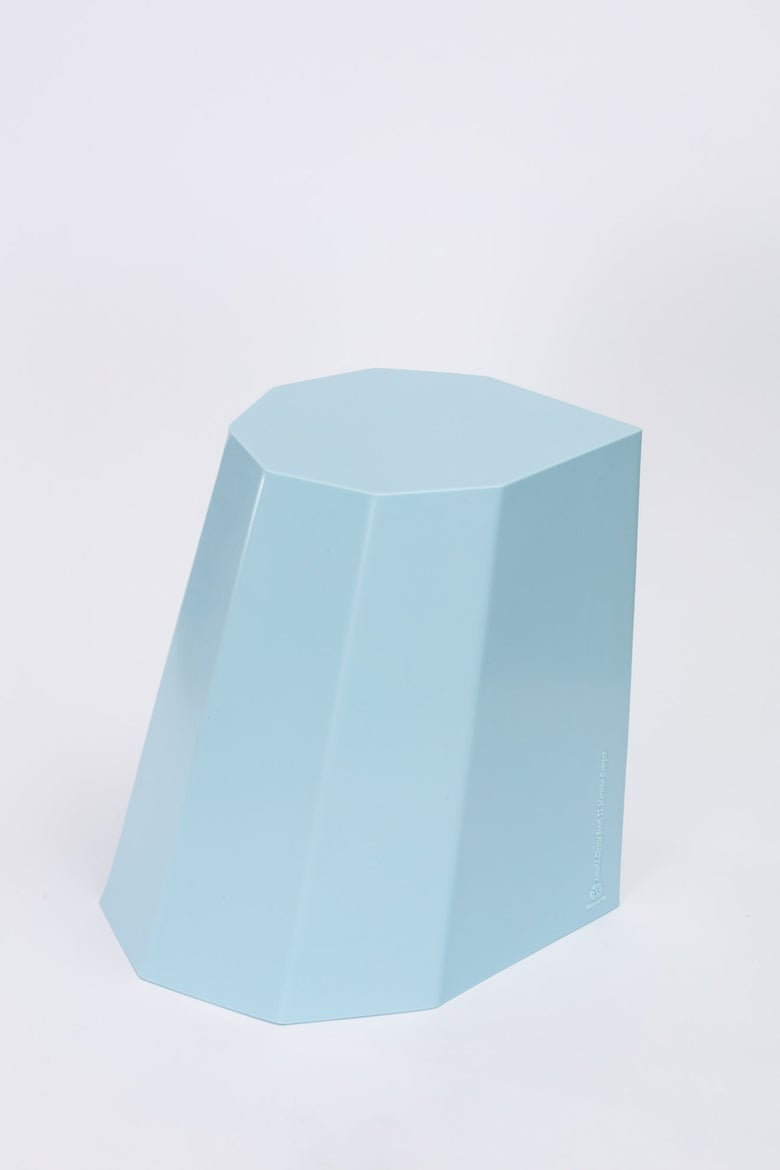 Image of Arnold Circus Stool - Baby Blue
