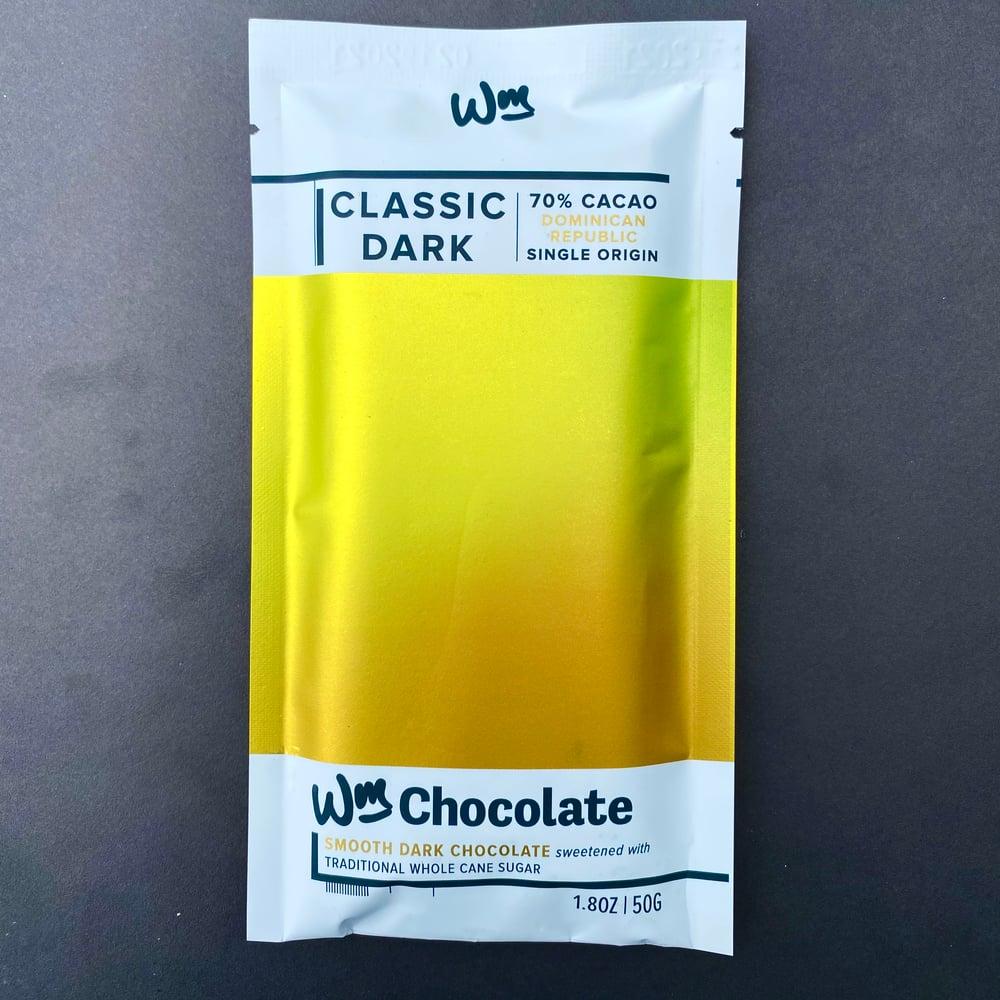 Image of Wm. Chocolate 70% Dominican Republic Dark Chocolate