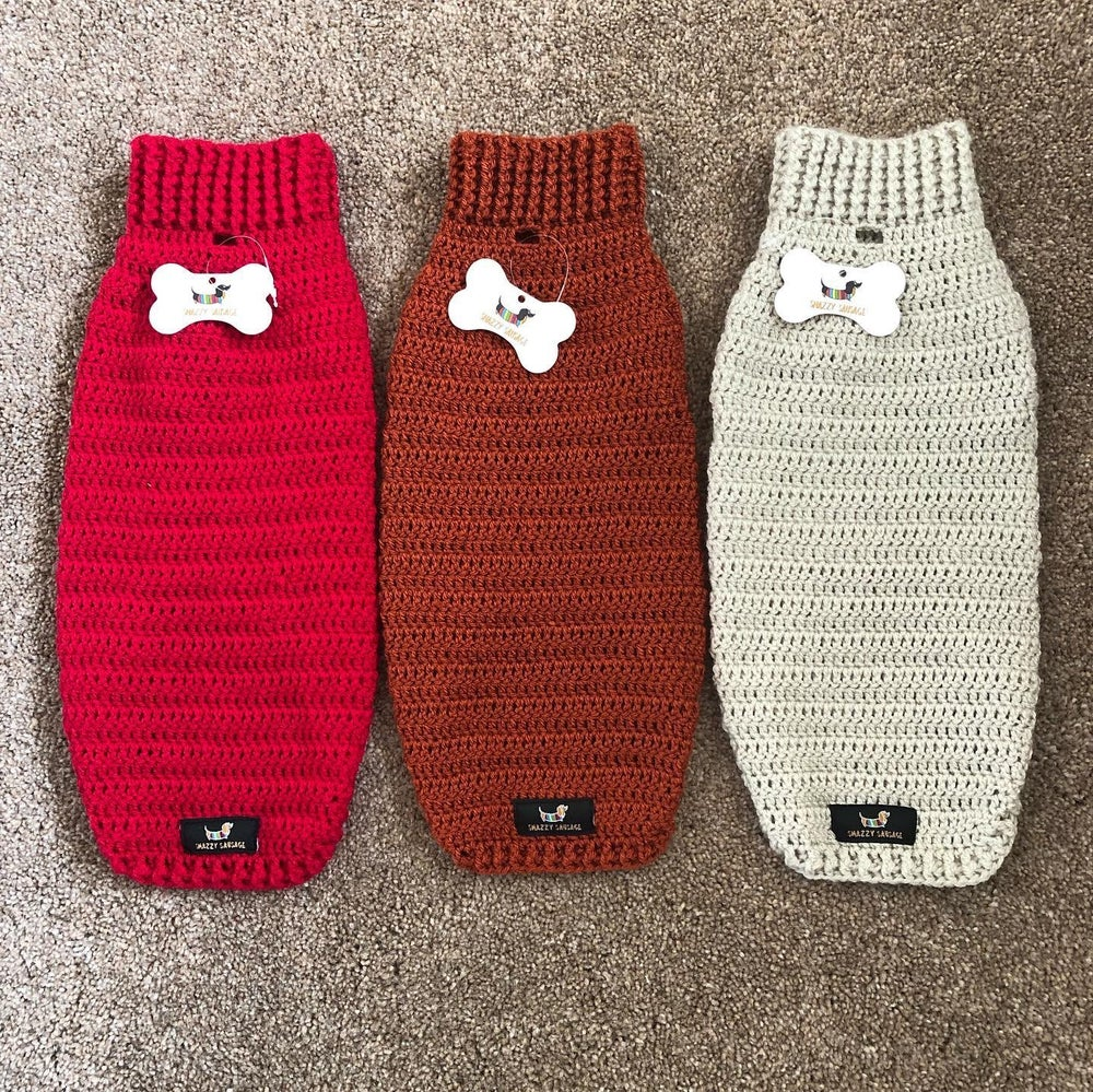 Image of Single Colour Snazzy Jumper