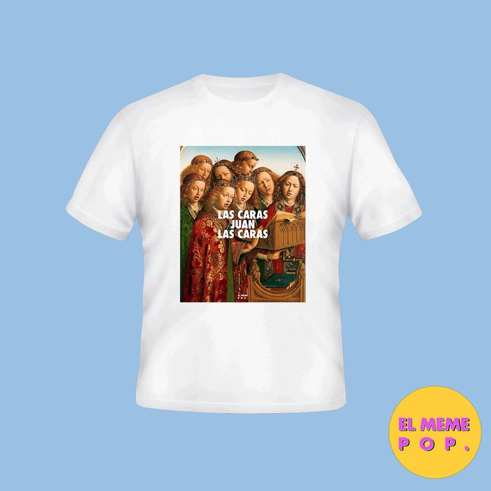 Image of Camiseta - Las caras Juan
