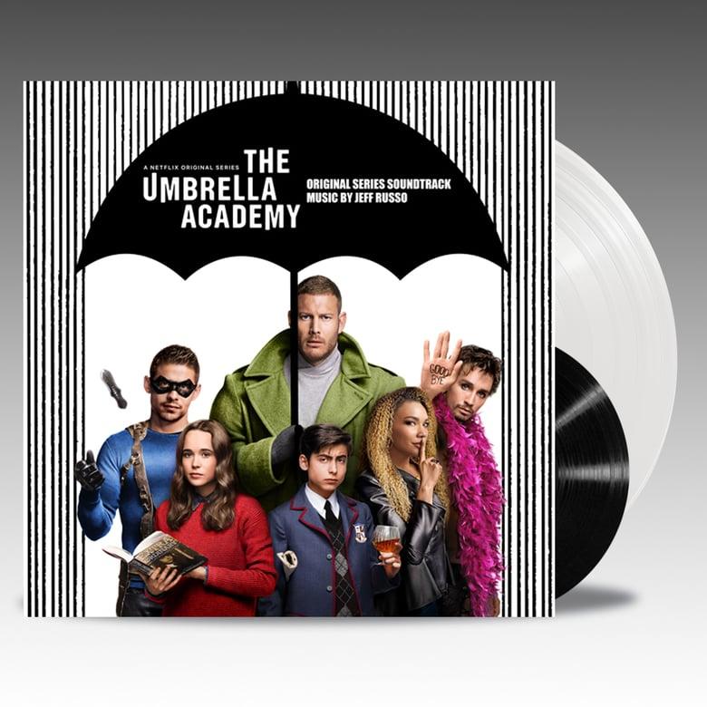 "Image of The Umbrella Academy (Original Series Soundtrack) Deluxe Edition 'Vanya White Vinyl' + Bonus 7"""