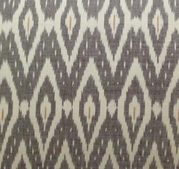 Image of Ikat with Rhombuses Zigzag Shade 30cm