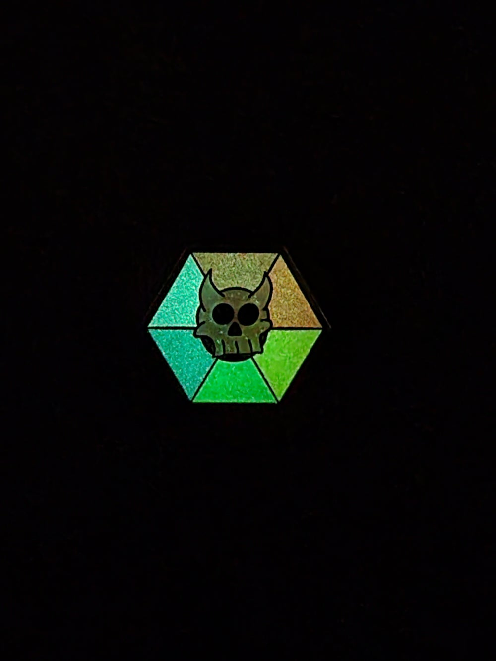 """Reaper Talisman"" (Spectrum Variant) Enamel Pin"