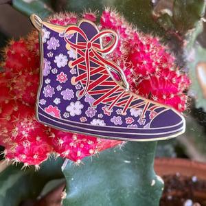 LOST Purple Flowers Shoe