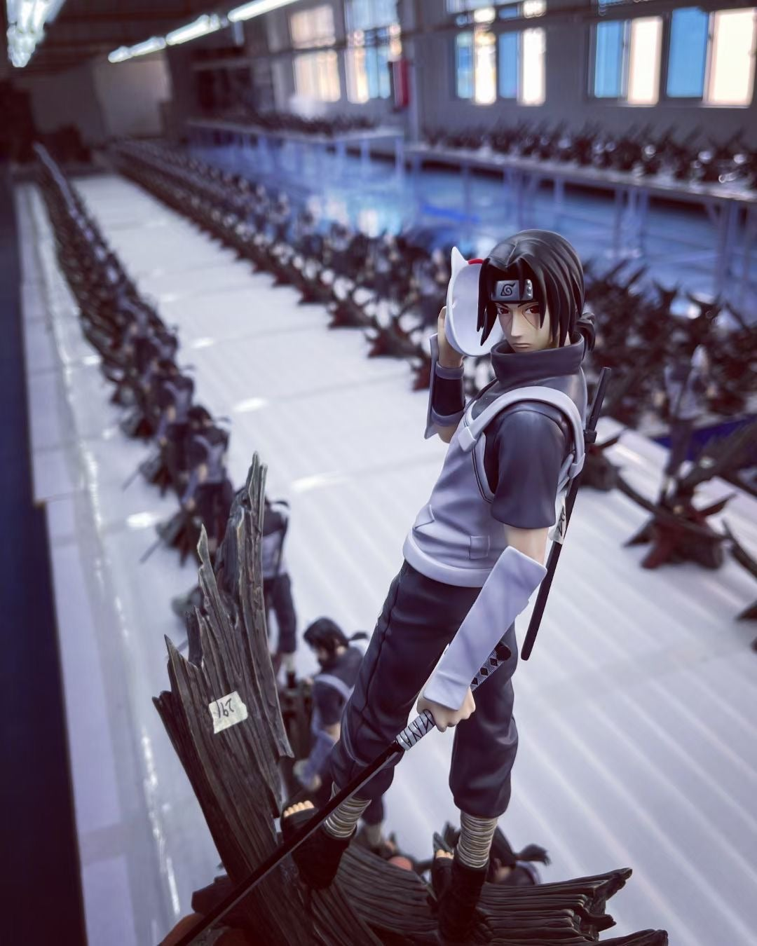 Image of [In-Stock]Naruto MH Studio Itachi Anbu Resin Statue