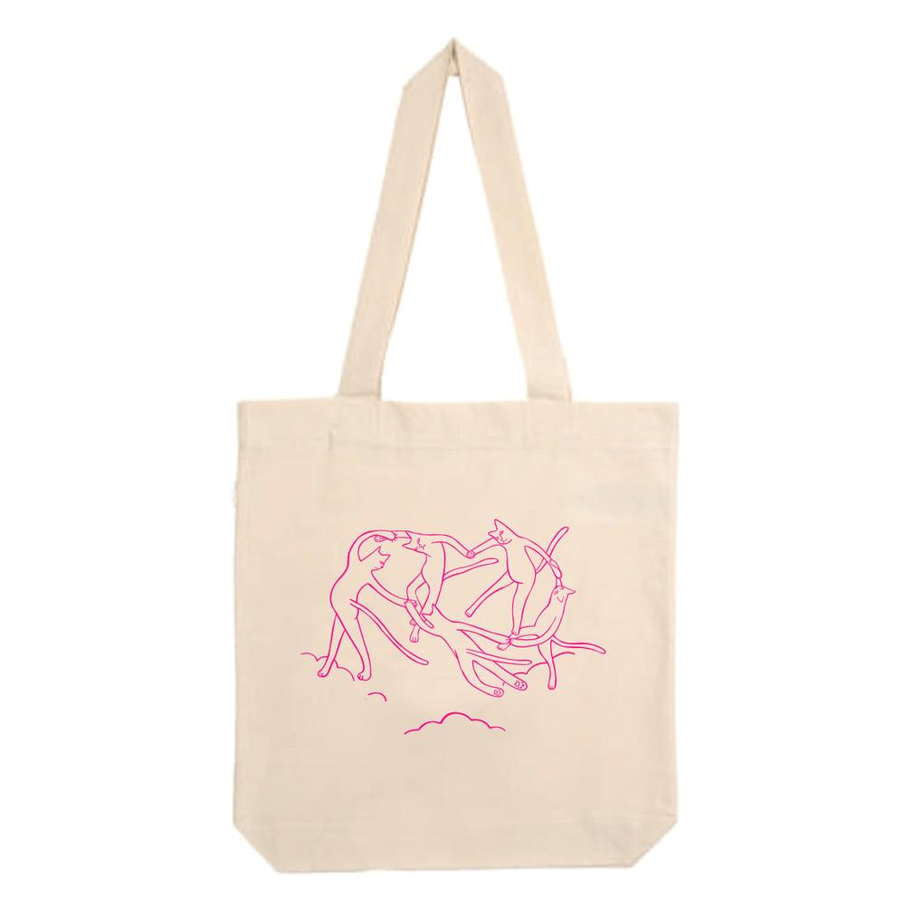 Image of Tote bag El cielo de los gatos