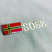 Image of Flag of '58 Pin Badge