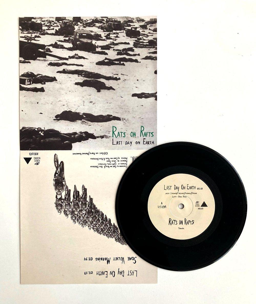 """Last Day On Earth/Some Velvet Morning - 7"""" single"""