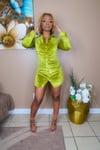 Olive Martini Dress