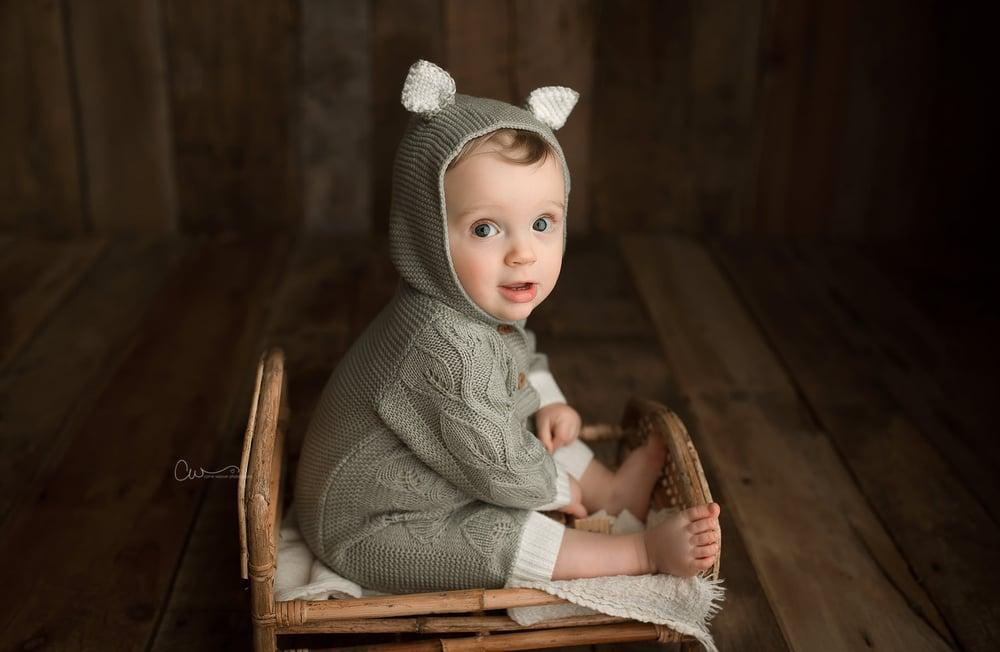 Image of Milo Hooded Romper