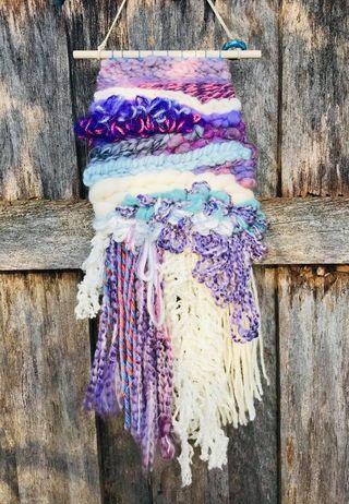 Image of Purple Rain Wall Hanging