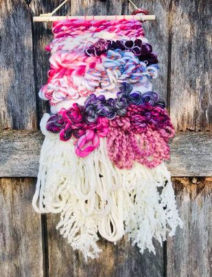 Image of Pretty in Pink Wall Hanging