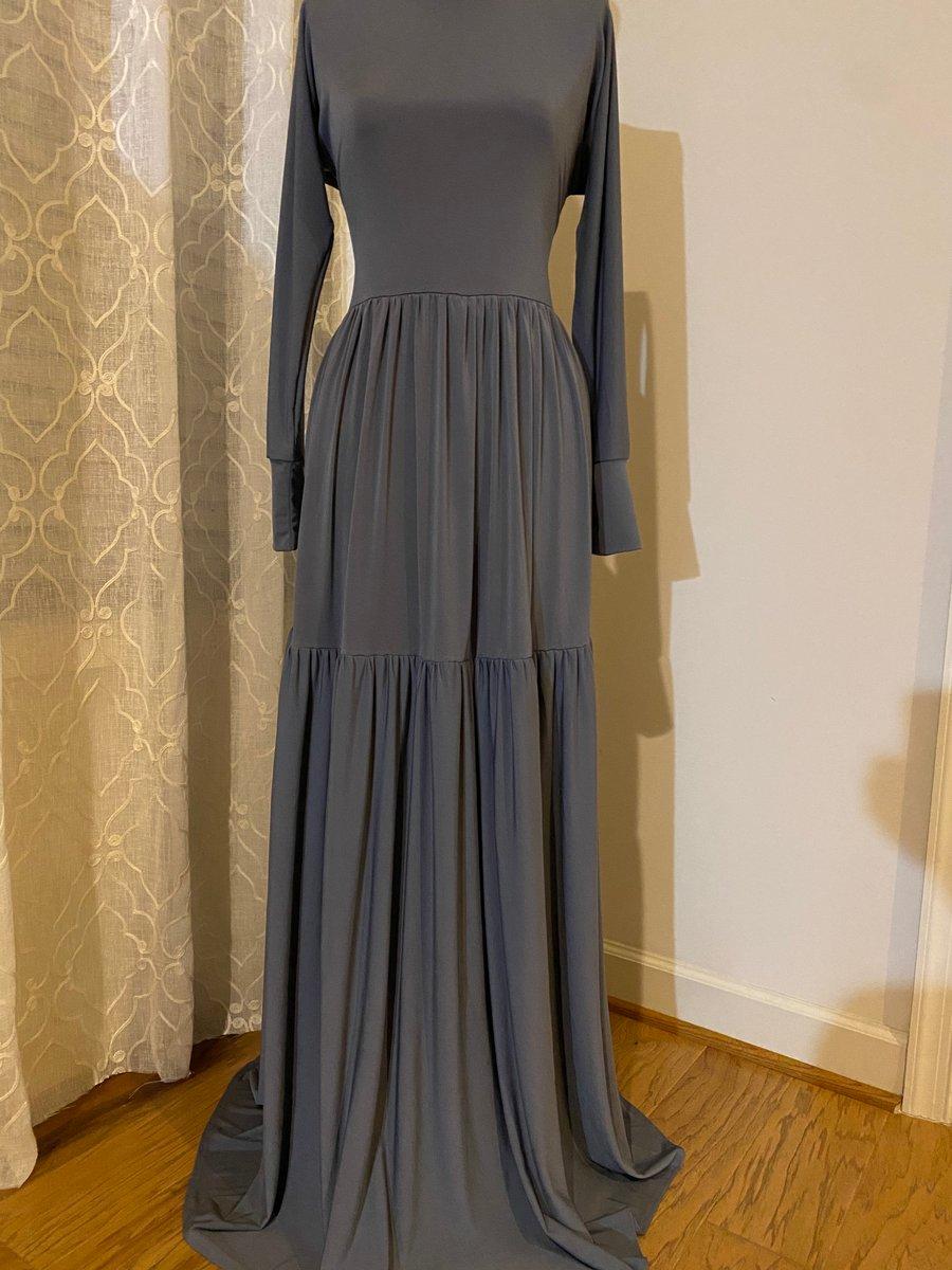Image of Gray Tier Garment